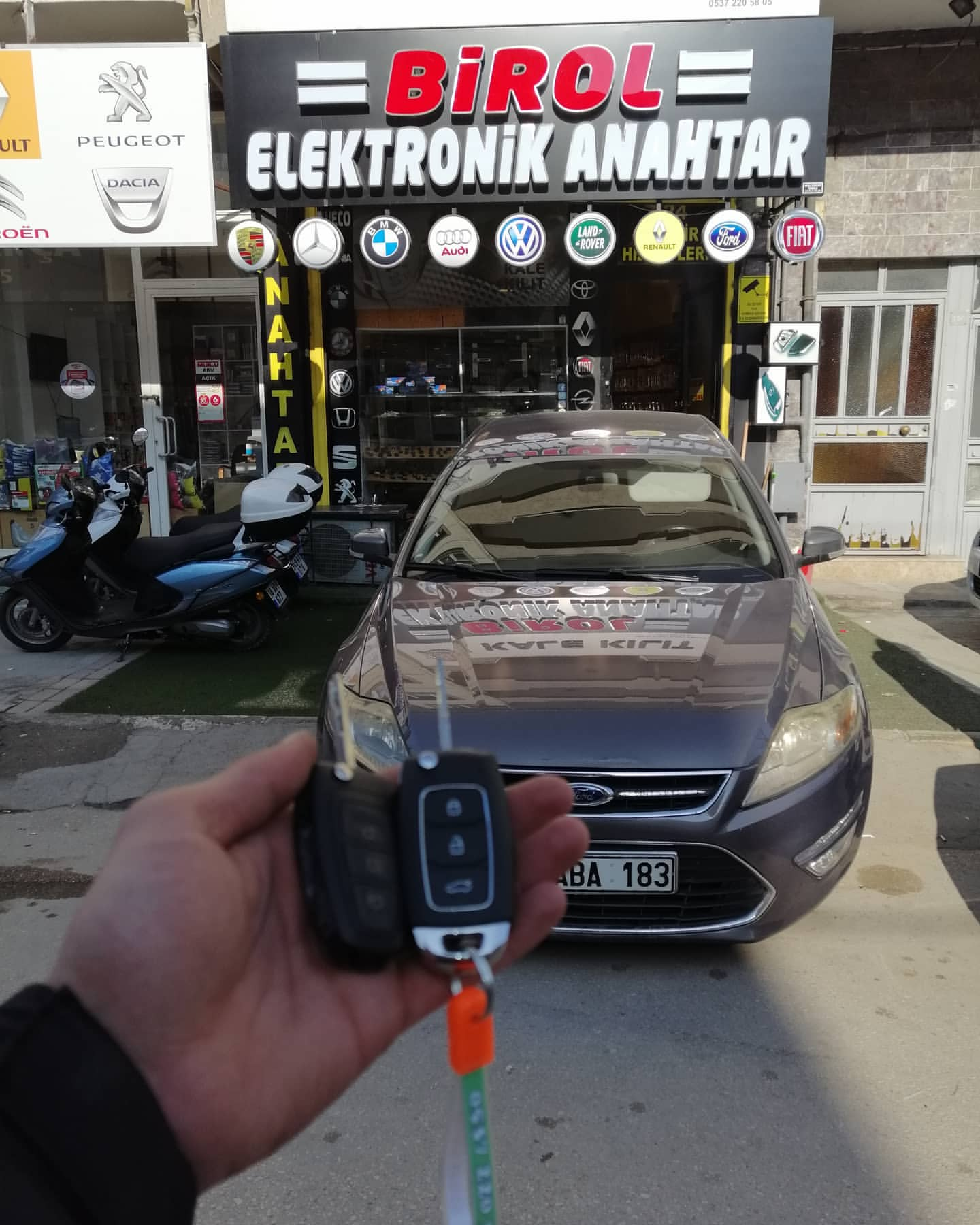 ford mondeo yedek anahtar