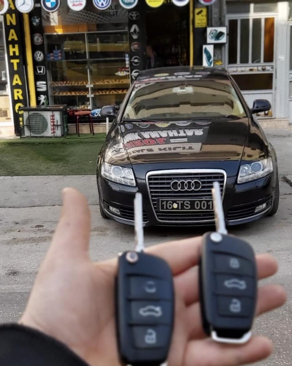 Audi A6 Anahtar Kopyalama Yedek Anahtar