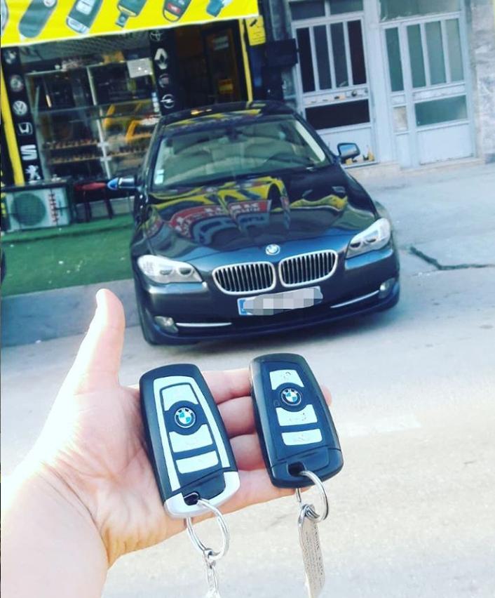 BMW 5.20 F10 Anahtar Kopyalama Yedek Anahtar