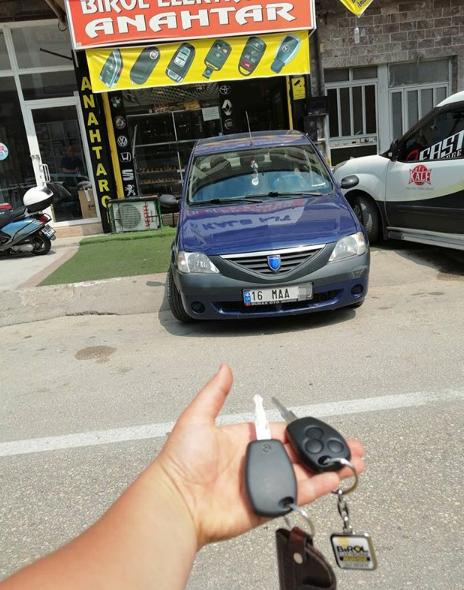 Dacia Logan Anahtar Kopyalama Yedek Anahtar