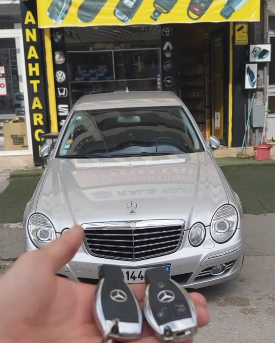 Mercedes w211 Anahtar Kopyalama Yedek Anahtar