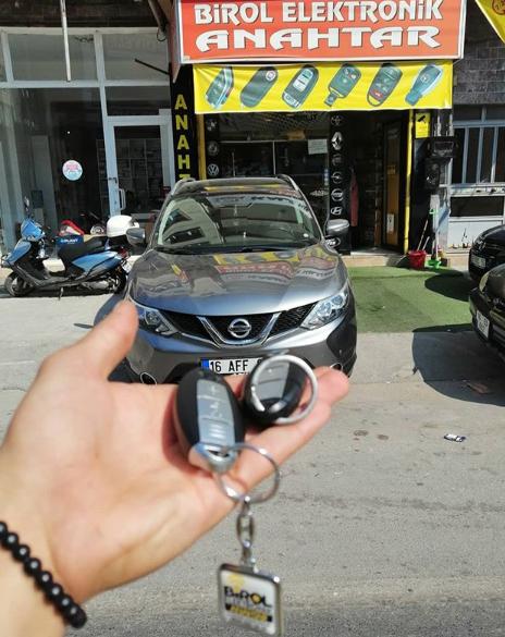 Nissan Qhasqai Anahtar Kopyalama Yedek Anahtar