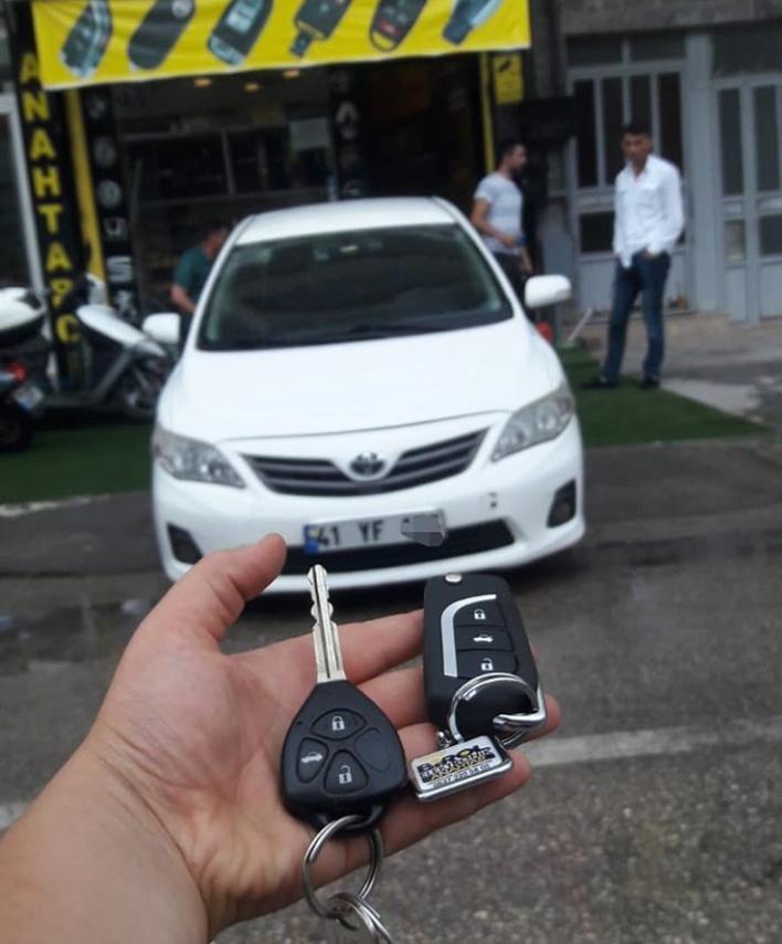 Toyota Corolla Anahtar Kopyalama Yedek Anahtar