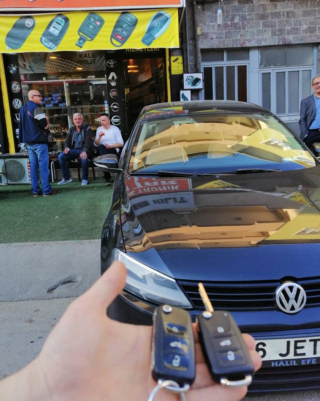 Volkswagen Jetta anahtar kopyalama Yedek Anahtar