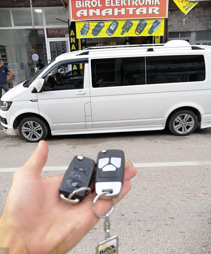 Volkswagen Transporter Anahtar Kopyalama Yedek Anahtar