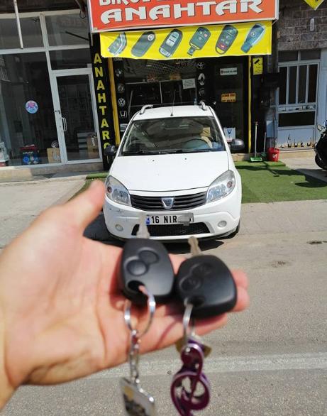 Dacia Sandero Anahtar Kopyalama Yedek Anahtar
