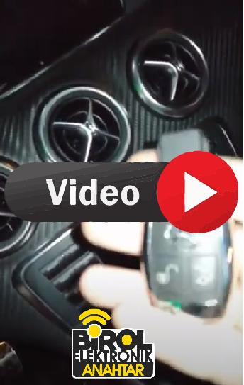 Mercedes A200 Anahtar Kopyalama Yedek Anahtar