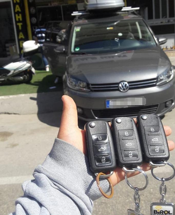 Volkswagen Touareg Anahtar Kopyalama Yedek Anahtar