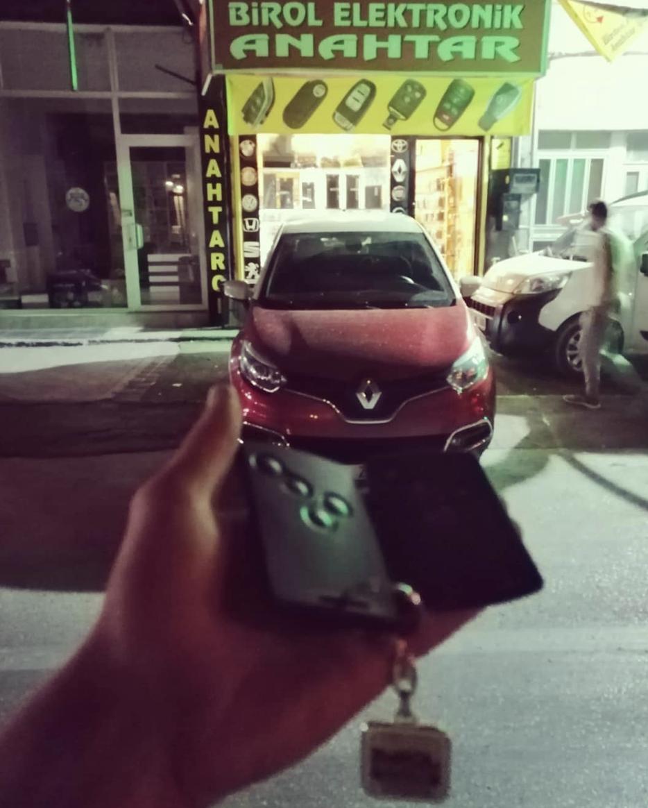 Renault Captur Anahtar Kopyalama Yedek Anahtar