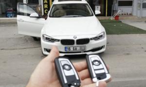 BMW F30 Anahtar Kopyalama Yedek Anahtar