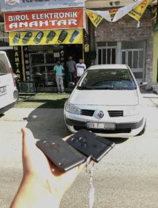Renault Megane 2 Kart Kopyalama Yedek Kart
