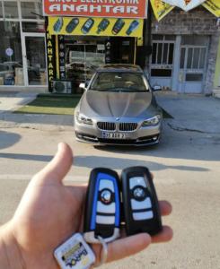 BMW F10 Anahtar Kopyalama Yedek Anahtar