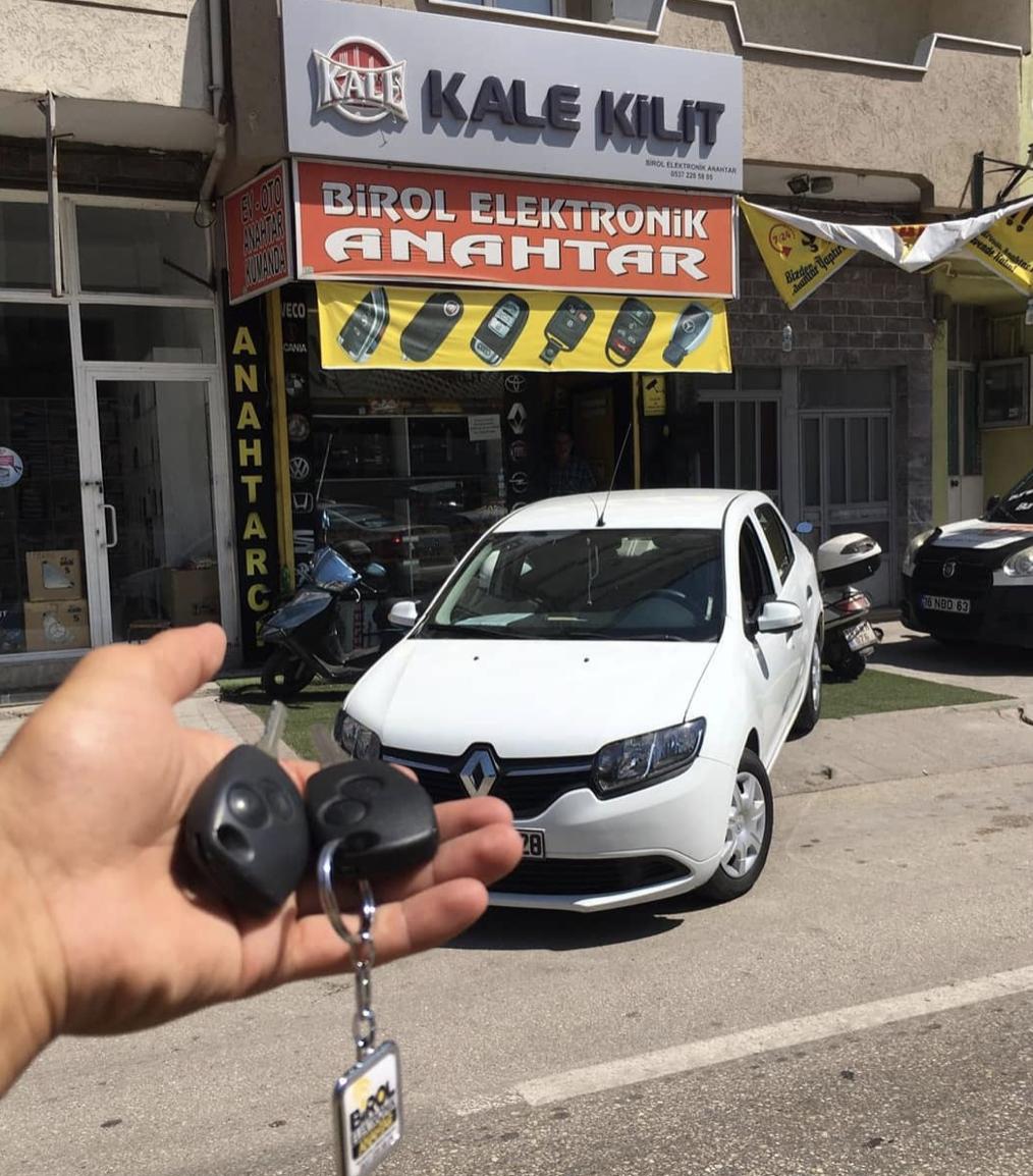 Renault Symbol Anahtar Kopyalama Yedek Anahtar