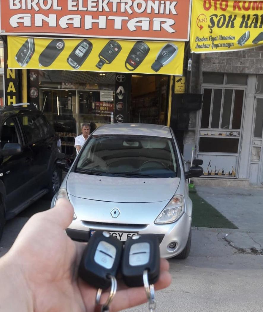 Clio Anahtar Kopyalama Yedek Anahtar