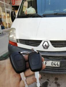 Renault Traffic Anahtar Kopyalama Yedek Anahtar