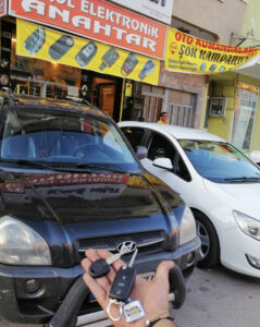 Hyundai Tucson Anahtar Kopyalama Yedek Anahtar