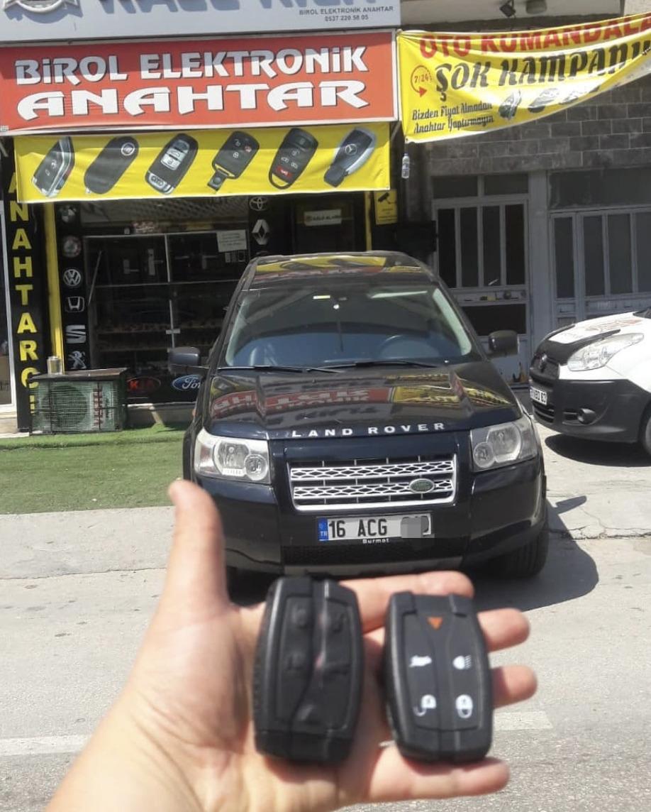 Land Rover Anahtar Kopyalama