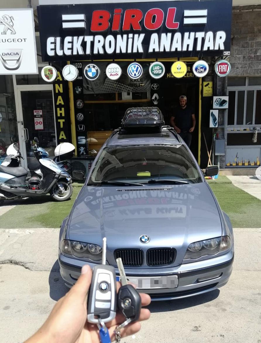 BMW E46 Anahtar Kopyalama Yedek Anahtar