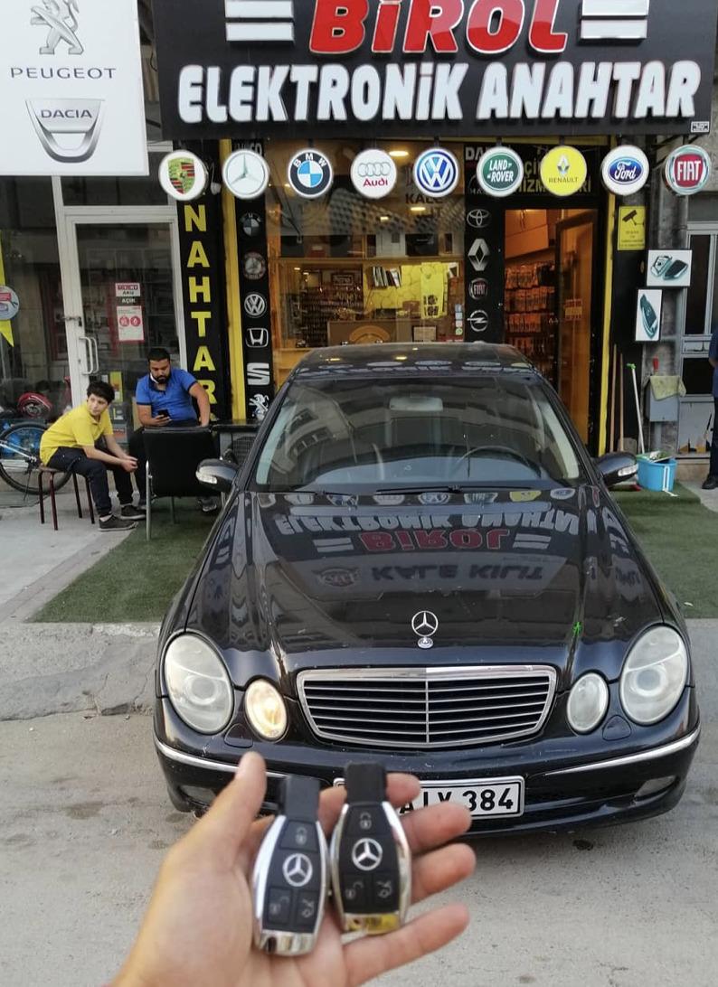 W211 Yedek Anahtar