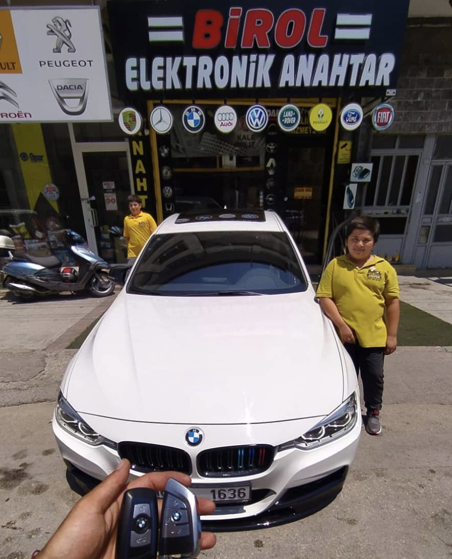 (Turkish) BMW 3 Anahtar Kopyalama Yedek Anahtar