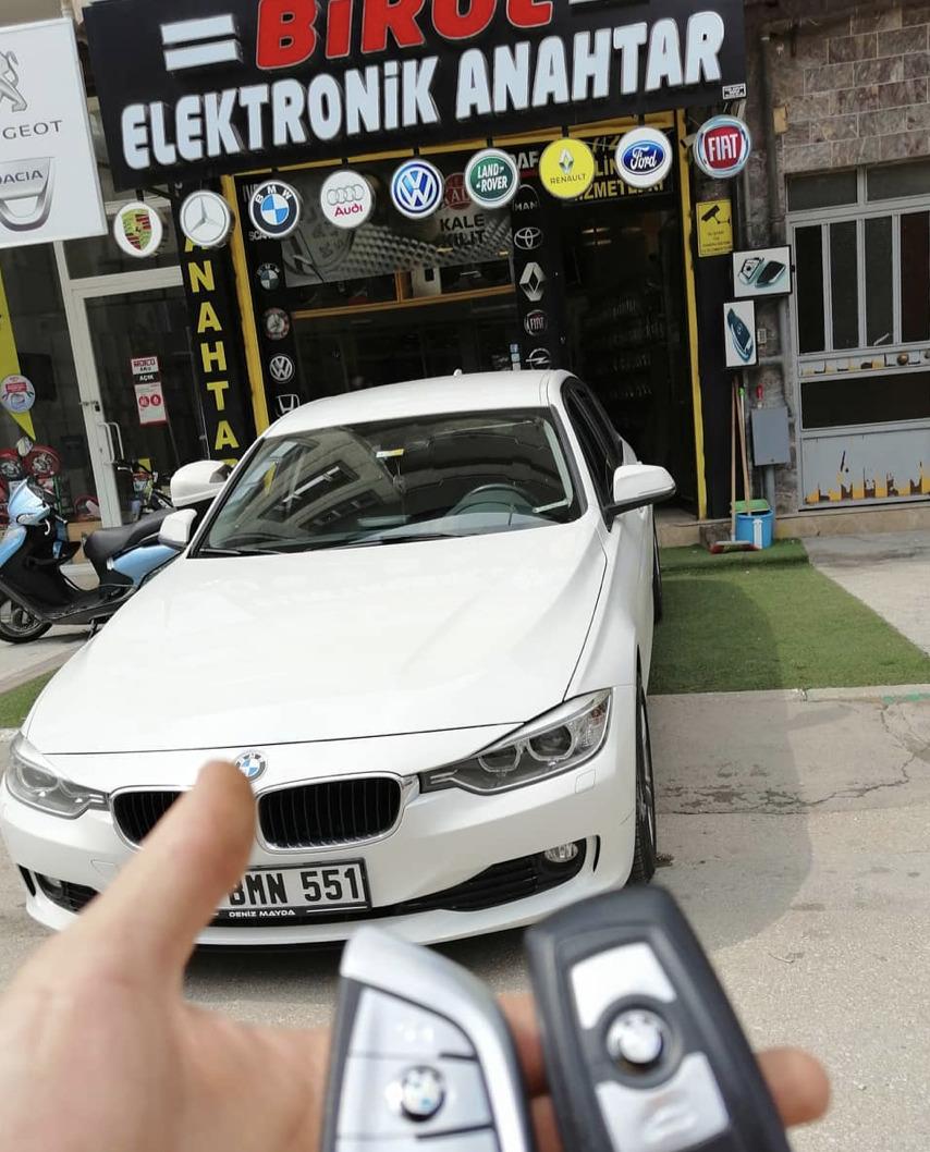 (Turkish) BMW F30 Anahtar Kopyalama Yedek Anahtar