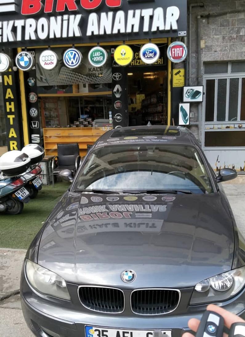 BMW 1 Anahtar Kopyalama Yedek Anahtar