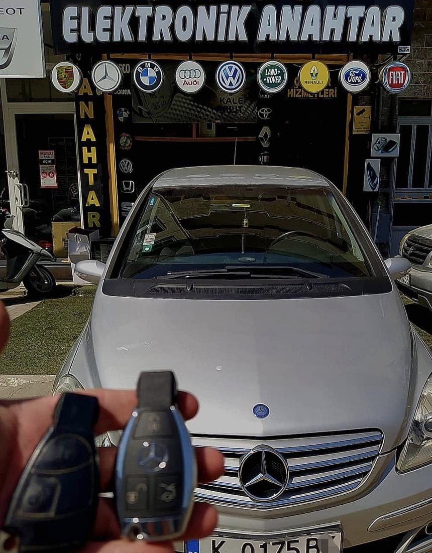 Mercedes A Serisi Anahtar Kopyalama Yedek Anahtar