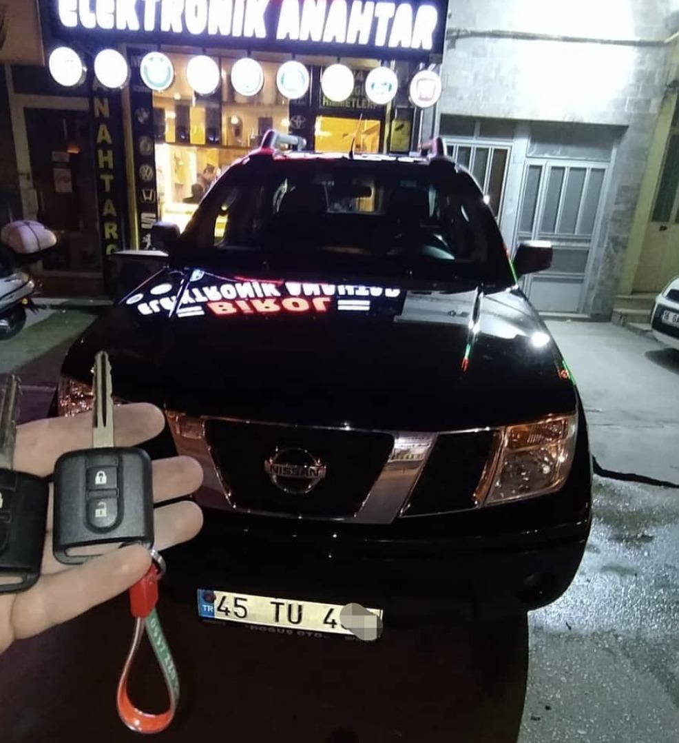 Nissan Navara Anahtar Kopyalama Yedek Anahtar