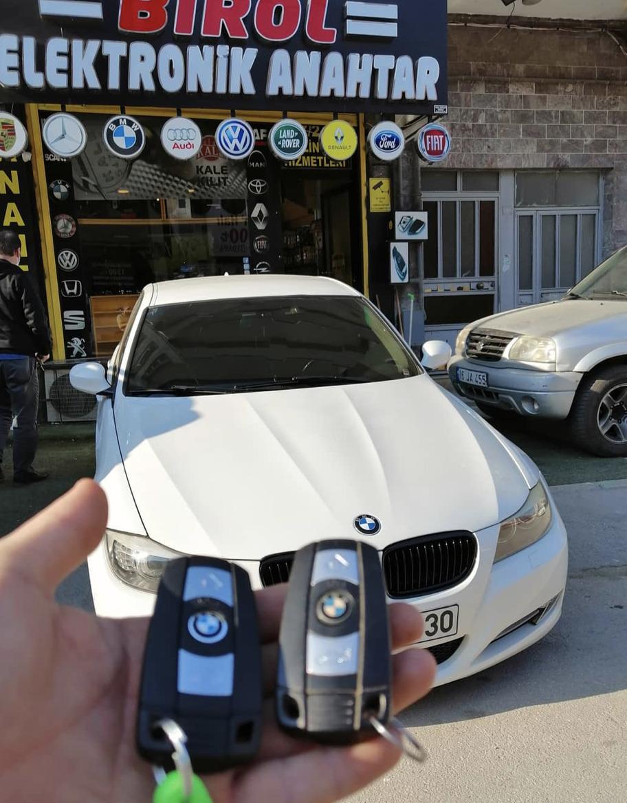 (Turkish) BMW E90 Anahtar Kopyalama Yedek Anahtar
