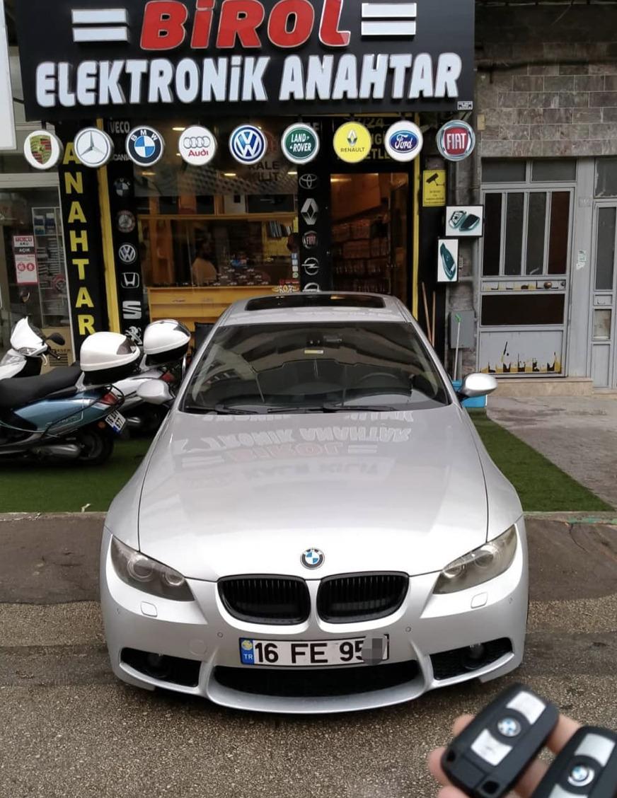 BMW E92 Anahtar Kopyalama Yedek Anahtar