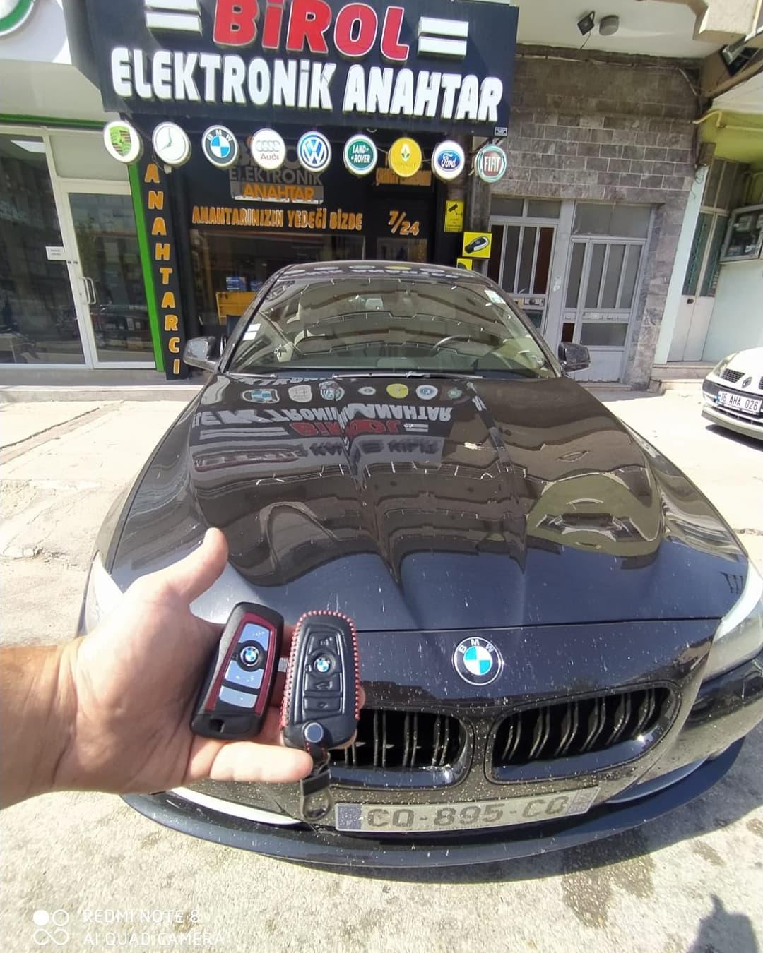 2015 BMW F10 YEDEK ANAHTAR